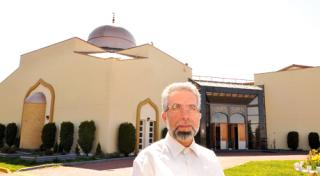 Mohamad Rachid, Imam at Richmond Jamia Mosque. Image by Mark Patrick via Richmond Review